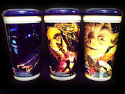 Star Wars trilogy promotional Odeon cups