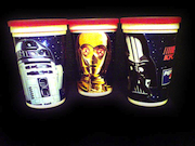Star Wars trilogy promotional KFC cups