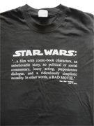 Official Star Wars Special Edition VFX crew t-shirt
