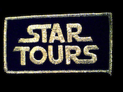 Star Tours iron-on patch