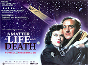 A Matter Of Life & Death quad poster