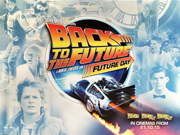 Back To The Future - 30th anniversary Trilogy movie quad poster