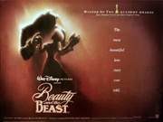 Beauty And The Beast quad poster