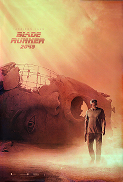 Blade Runner 2049 advance style A movie one sheet poster