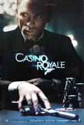 Casino Royale advance quad movie poster