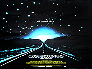Close Encounters Of The Third Kind movie quad poster