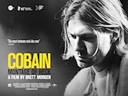 Cobain - Montage of Heck movie quad poster