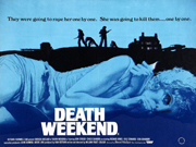 Death Weekend movie quad poster