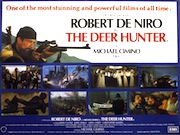 The Deer Hunter quad poster
