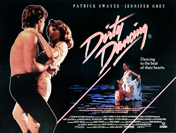 Dirty Dancing movie quad poster