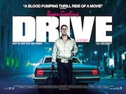 Drive movie quad poster