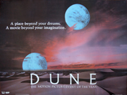 Dune advance A movie quad poster