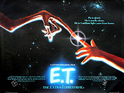 E.T. The Extra Terrestrial quad poster