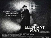The Elephant Man quad poster