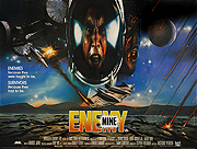 Enemy Mine quad poster