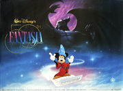 Fantasia 50th Anniversary movie quad poster