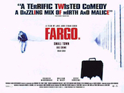 Fargo movie quad poster