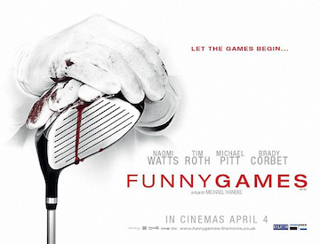 Funny Games advance movie quad poster
