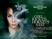 The Girl Who Kicked The HornetÍs Nest movie quad poster