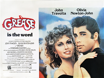 Grease quad poster