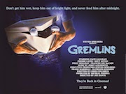 Gremlins 2012 re-release movie quad poster