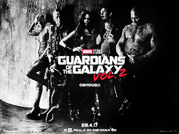 Guardians Of The Galaxy movie quad poster