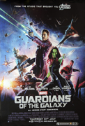 Guardians Of The Galaxy one-sheet movie poster