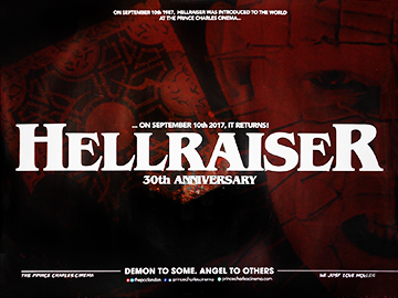 Hellraiser 30th movie quad poster