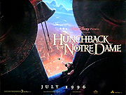 Hunchback Of Notre Dame movie quad poster