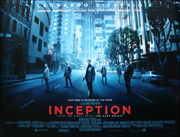 Inception movie quad poster