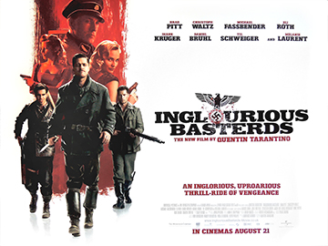 Inglorious Basterds style A quad poster