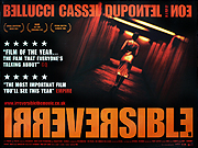IRREVERSIBLE movie quad poster