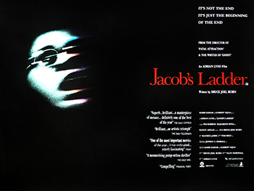Jacobs Ladder movie quad poster