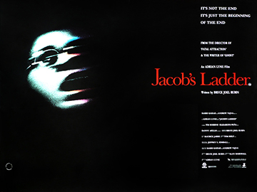 Jacobs Ladder advance movie quad poster