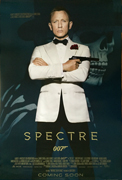 James Bond - Sceptre movie one-sheet poster