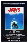 Jaws movie quad poster