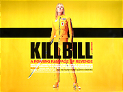 Kill Bill Vol.1 movie quad poster