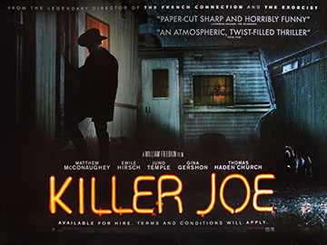 Killer Joe movie quad poster