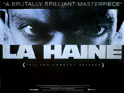La Haine movie quad poster