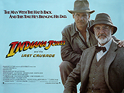 Indiana Jones & The Last Crusade movie quad poster