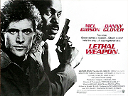 Lethal Weapon film quad poster