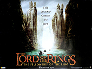 The Lord Of The Rings - Fellowship Of The Ring movie quad poster