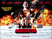 Machete movie quad poster