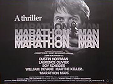Marathon Man movie quad poster