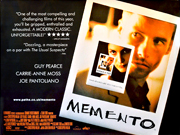 Memento movie quad poster