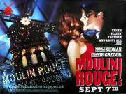 Moulin Rouge film quad poster