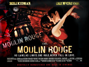 Moulin Rouge movie quad poster