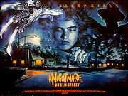A Nightmare On Elm Street movie quad poster