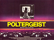 Poltergeist movie quad poster