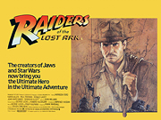 RAIDERS OF THE LOST ARK movie quad poster